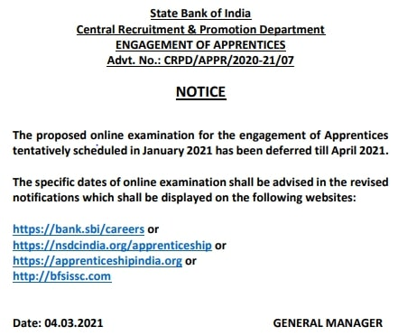 SBI Apprentices Bharti 2020 for 8500 Posts Notification Apply Online form